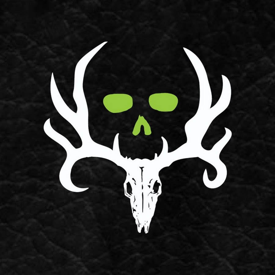 bone collector youtube Deer Antler Logo Bone Collector Deer Skull Logo