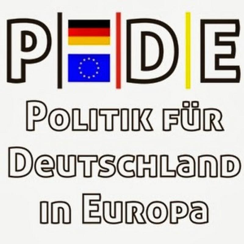PDE - Politik für Deutschland in Europa