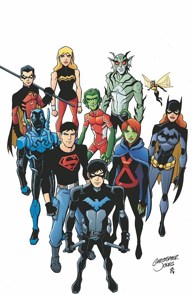 Liên Minh Công Lý Trẻ Phần 3 -justice League Season 3