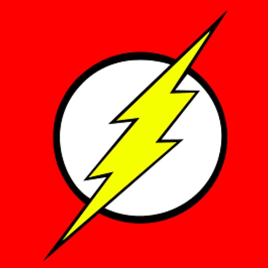 dc comics flash logo vector. Black Bedroom Furniture Sets. Home Design Ideas