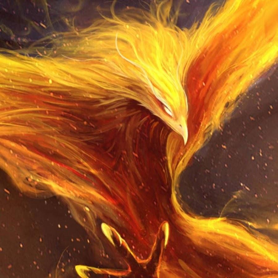 Gold Phoenix Ring