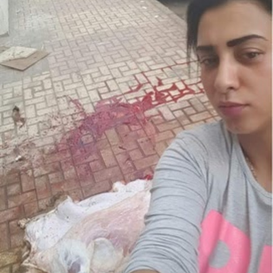Women killing Chicken youtube