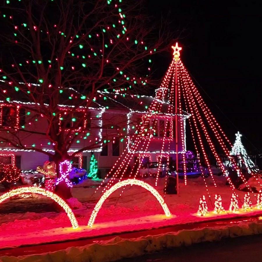 Gaudet Family Christmas Lights - YouTube