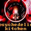 psychedelic kitchen TV