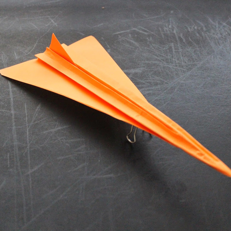 how to make a cool paper plane origami instruction f16