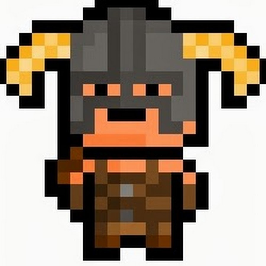 Pixelated Warrior