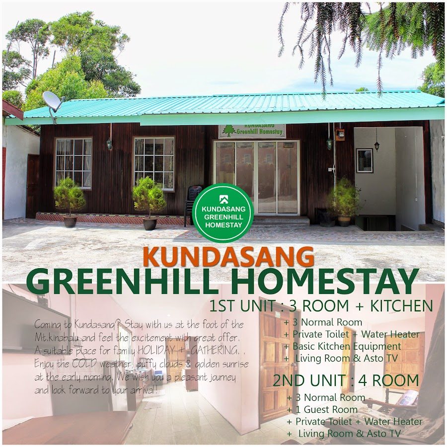 Image result for greenhill homestay kundasang