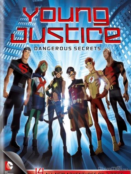 Xem Anime Liên Minh Công Lý Trẻ -Young Justice - Young Justice VietSub