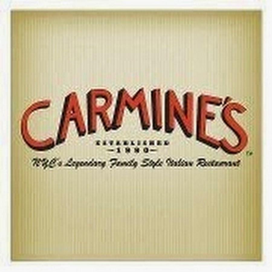Carmines nyc youtube for Carmines nyc