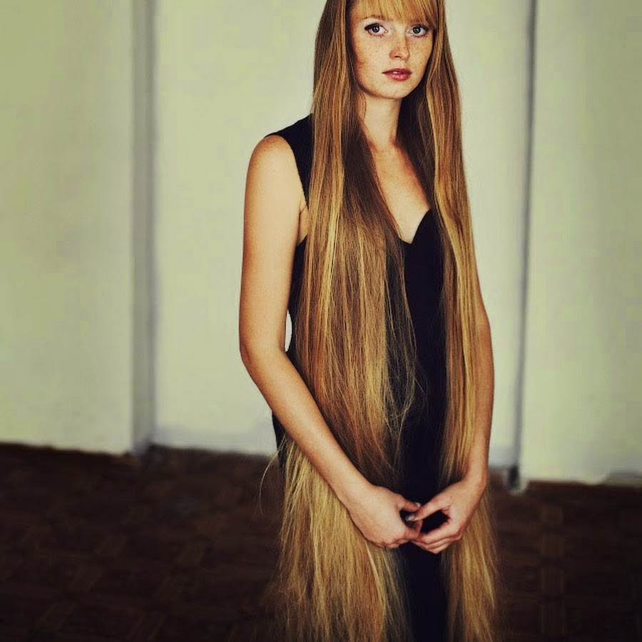 Beauty Of Women With Long Hair Youtube