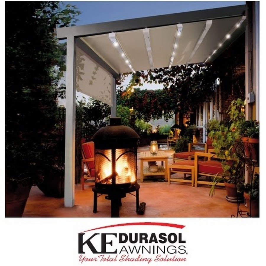 KE Durasol Awnings - YouTube