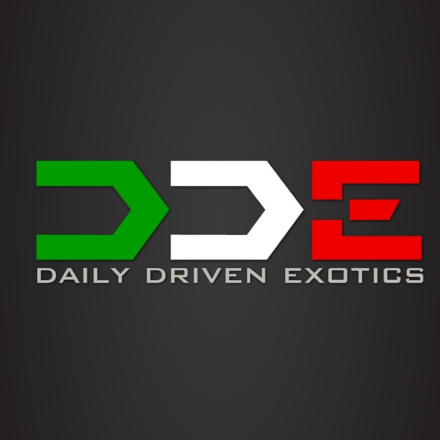 Dailydrivenexotics Youtube