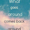 what goes around comes around based What goes around, comes around english short story published on september 10, 2012 by aparna91 excerpt: there i have done it.