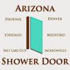 arizona shower door