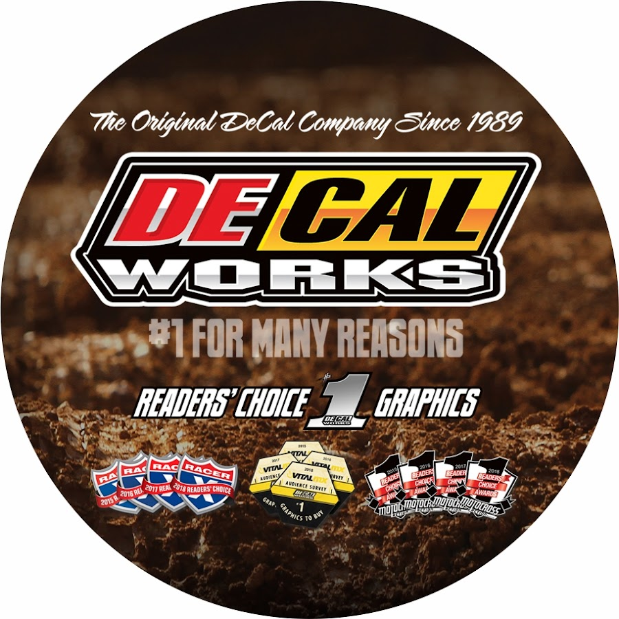 DeCal Works MX YouTube - Decal works graphicsdecal works camo graphics youtube