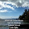 SIBAYAK GUEST HOUSE (TUKTUK - LAKE TOBA)