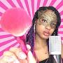 Masked Black Goddess ASMR