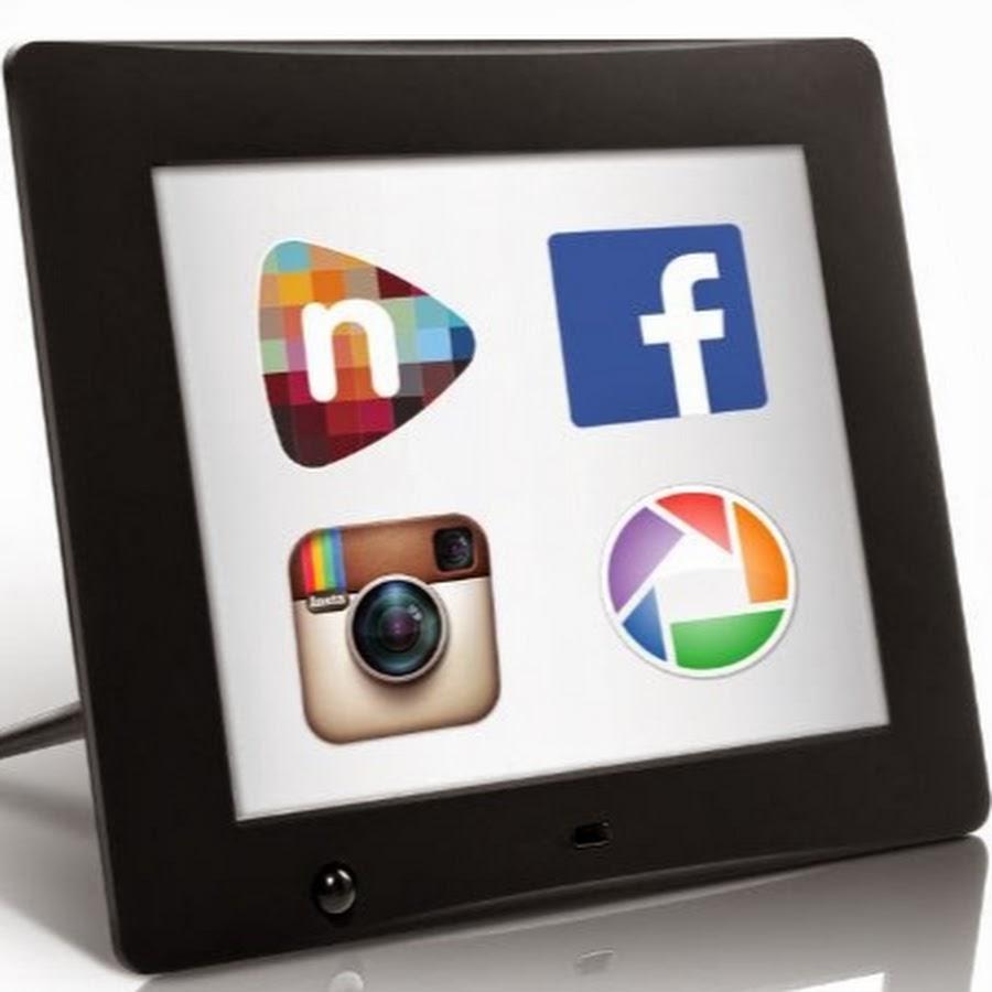 nixplay wi fi cloud digital photo frame youtube