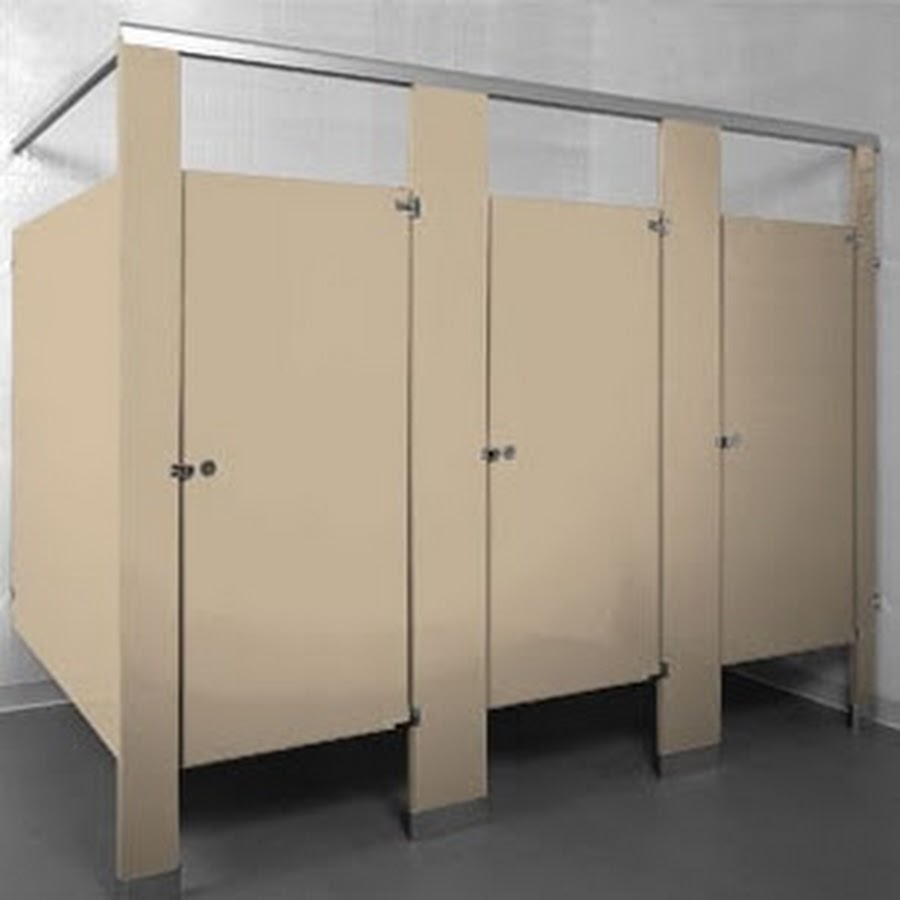 Bathroom Partitions Locks one point partitions - youtube