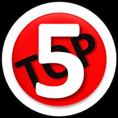 Рейтинг youtube(ютюб) канала Top Five