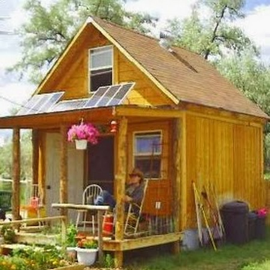 Solarcabin youtube for 14x14 cabin plans