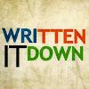 Written It Down