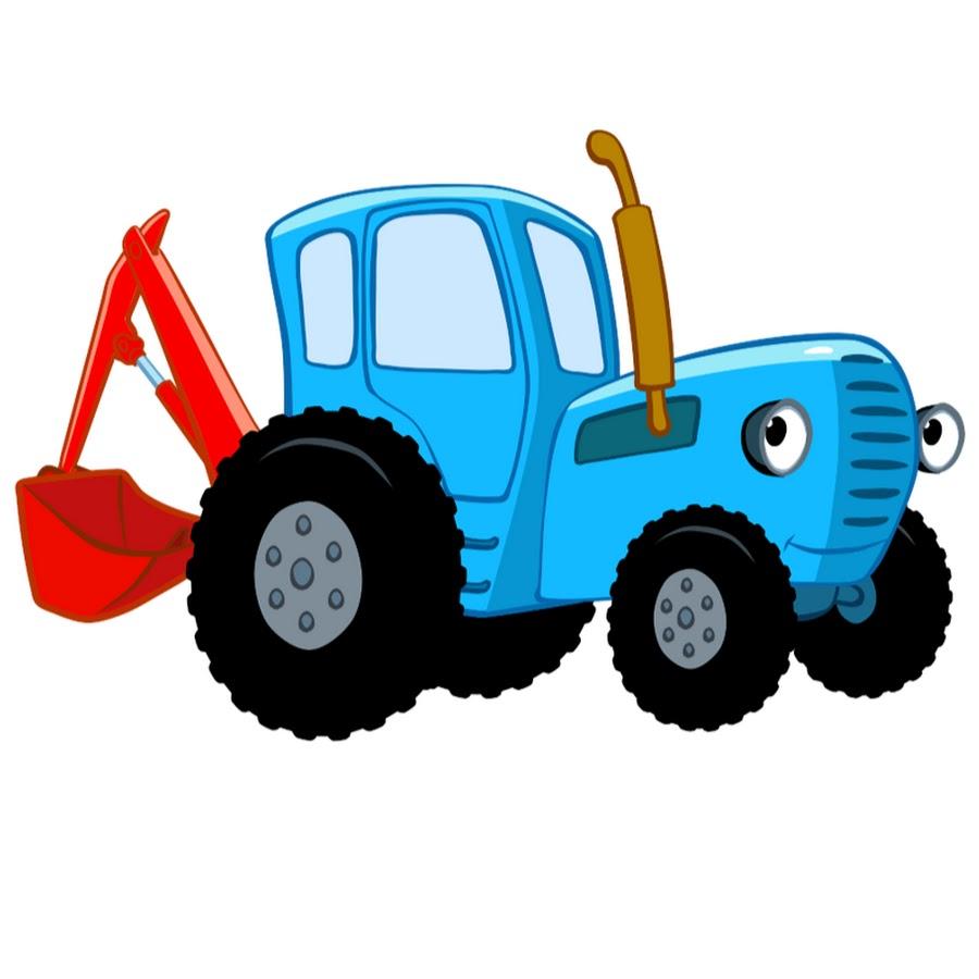 Трактор мультик