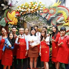 Điện hoa Việt Mỹ dạy cắm hoa