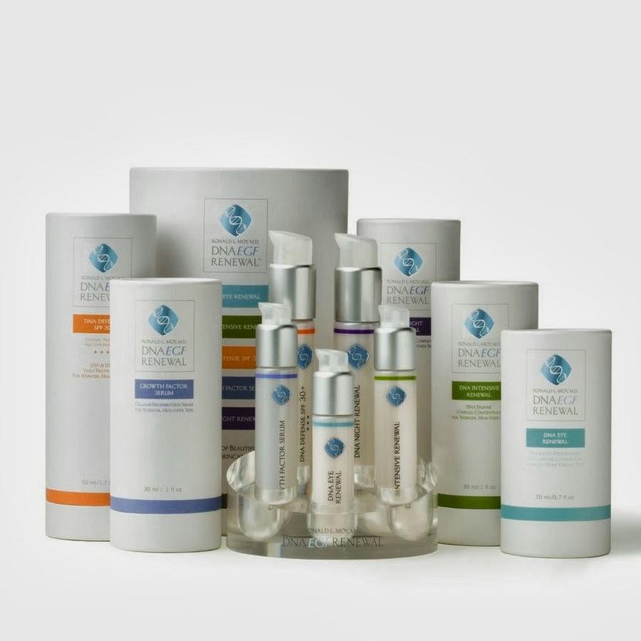 dna egf renewal skin care
