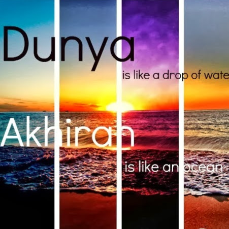 Dunya VS Akhirah