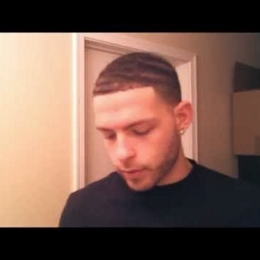 white guy with black hair youtube