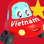 Little Red Car vườn ươm vần điệu và trẻ em video
