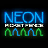 Neon Picket Fence