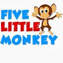 Five Little Monkeys - Baby Nursery Rhymes for Kids