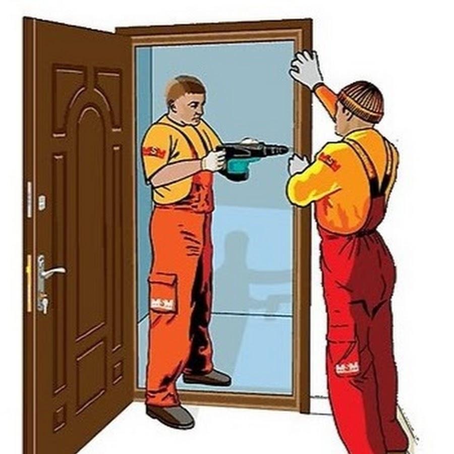 дополнительные услуги по установки металлической двери