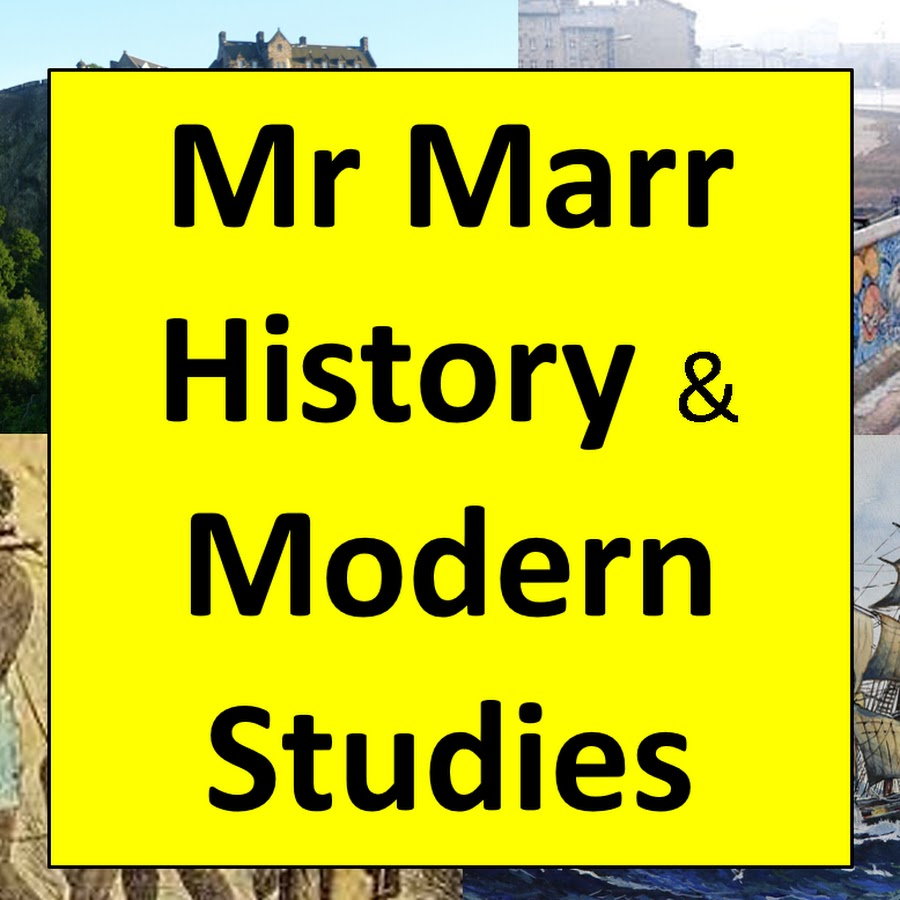 Mr Marr - Higher History: Essay questions