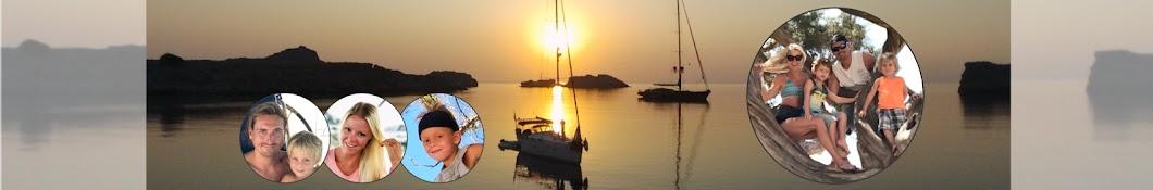 Sailing Holly Blue Banner