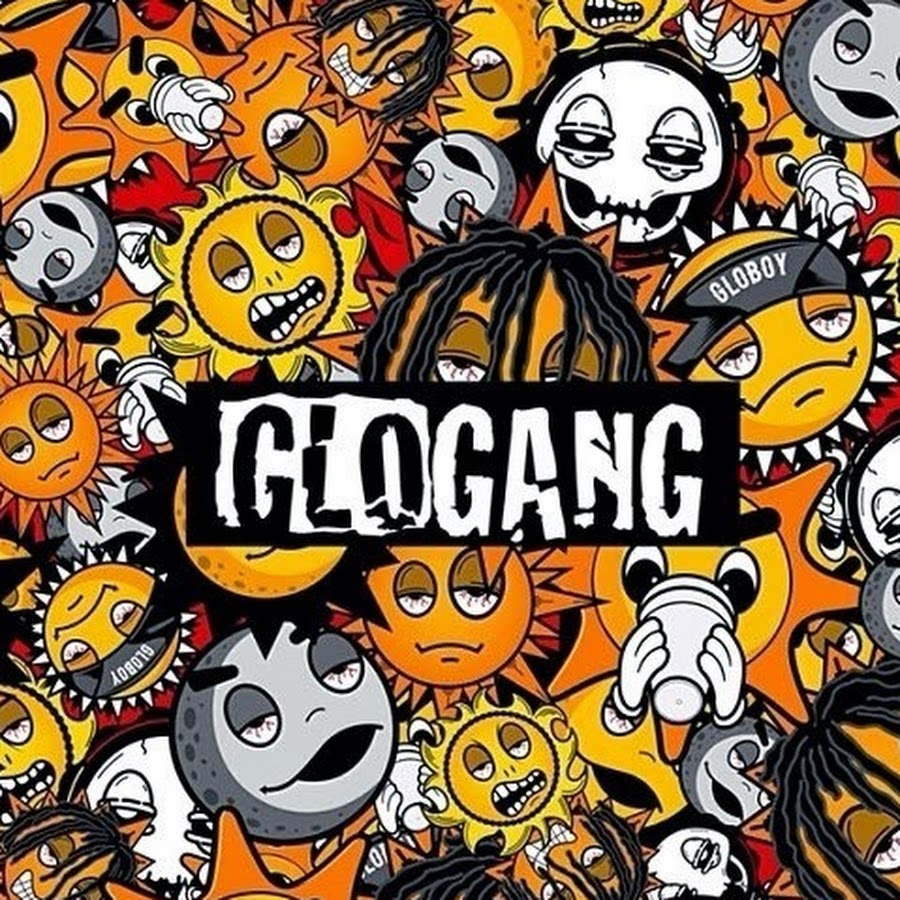 All glo gang sun logo