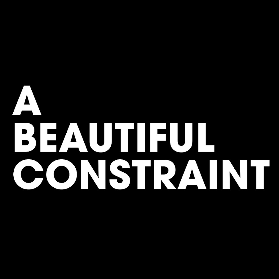 A Beautiful Constraint - YouTube