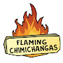 Flaming chimichangas