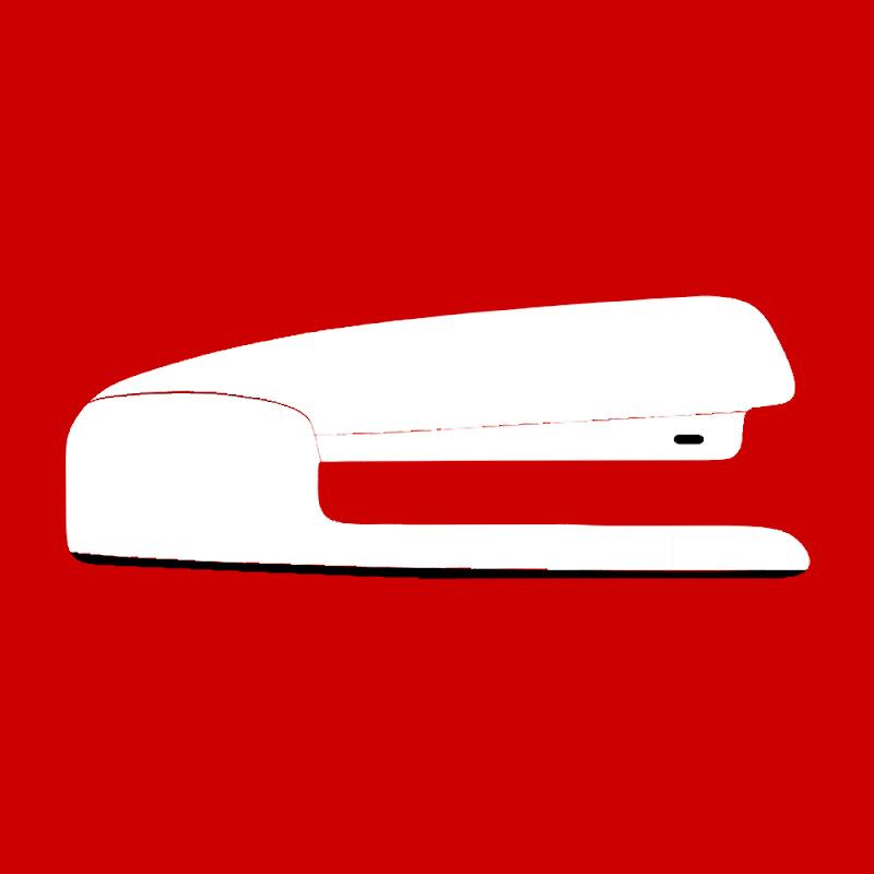 Red Stapler logo