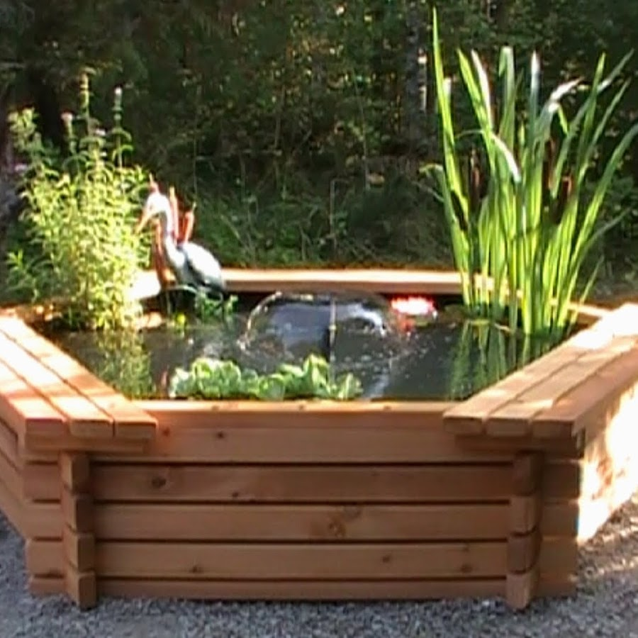 Kims ponds youtube for Make your own pond liner