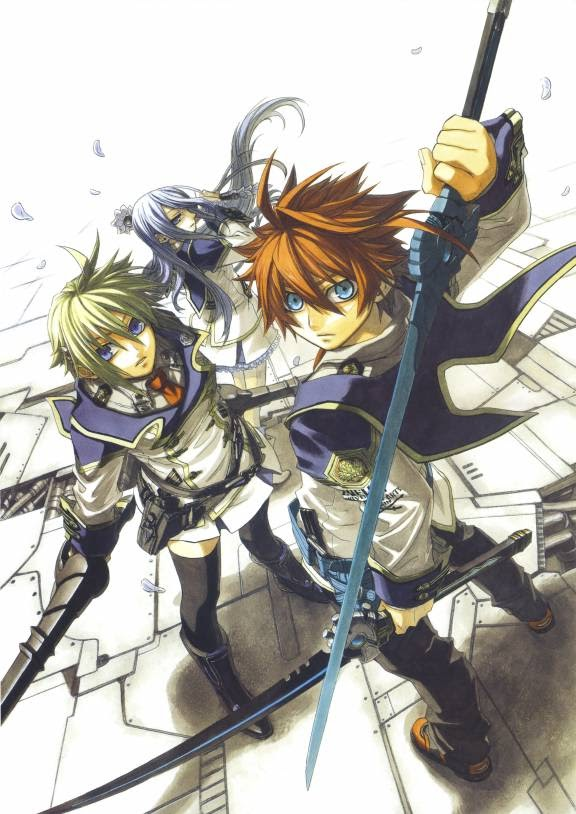 Chrome Shelled Regios -Koukaku No Regios