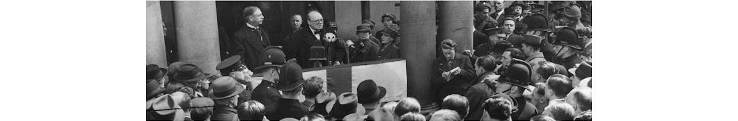 Winston Churchill Speeches Banner