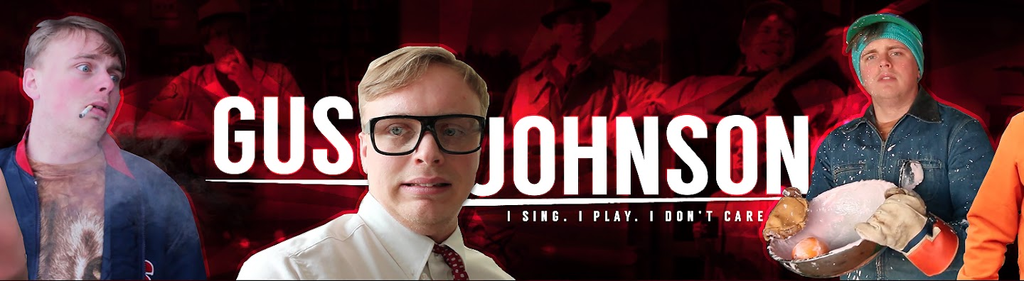 Gus Johnson's Cover Image