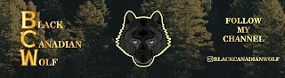 Black Canadian Wolf