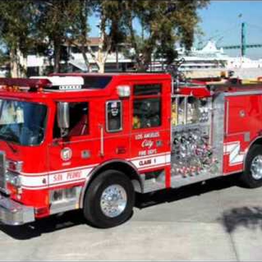 Colors For Children To Learn With Train Transporter Toy Street Vehicles Learn Colors For Kids: Fire Engine
