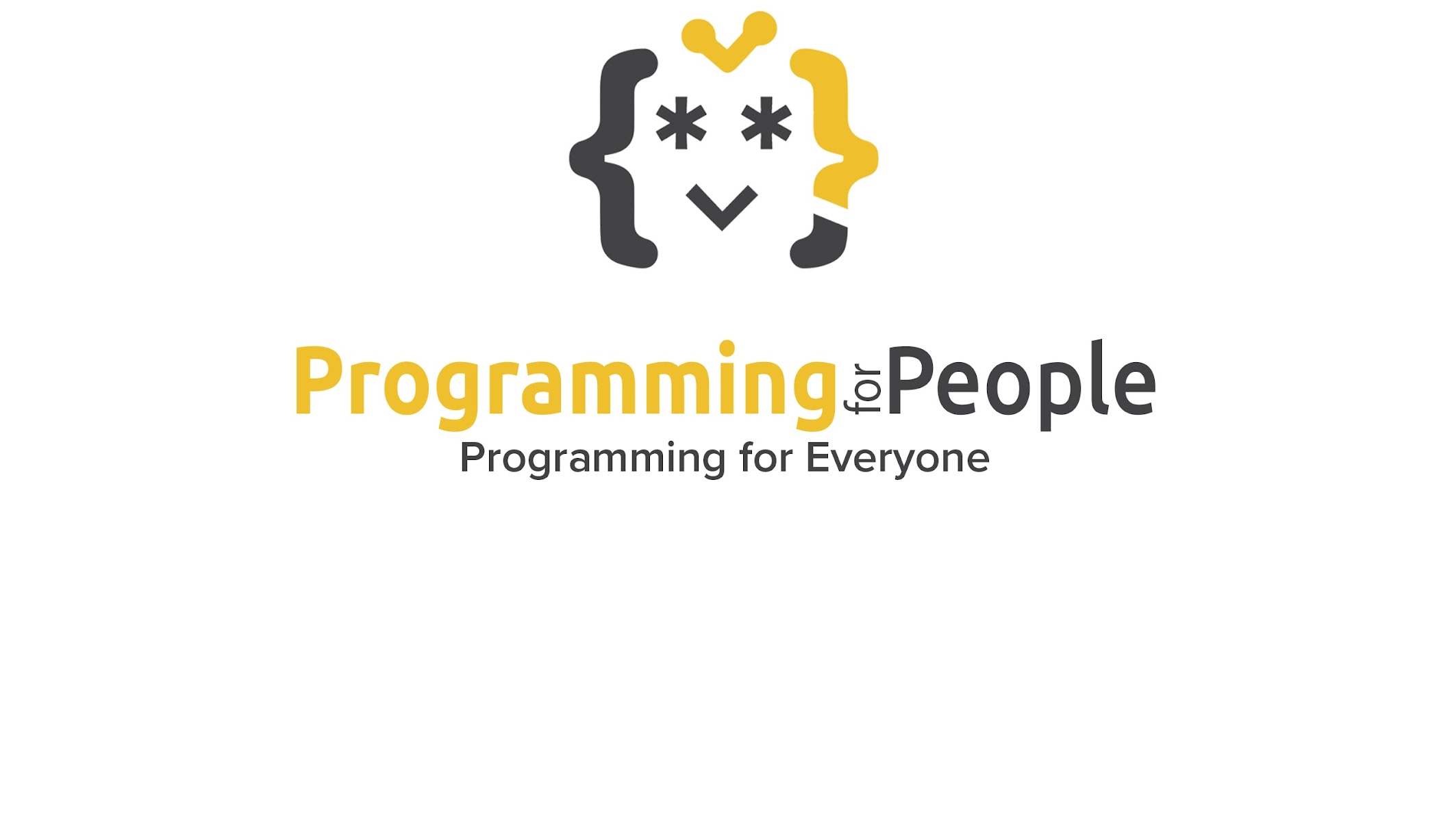 Programming for People