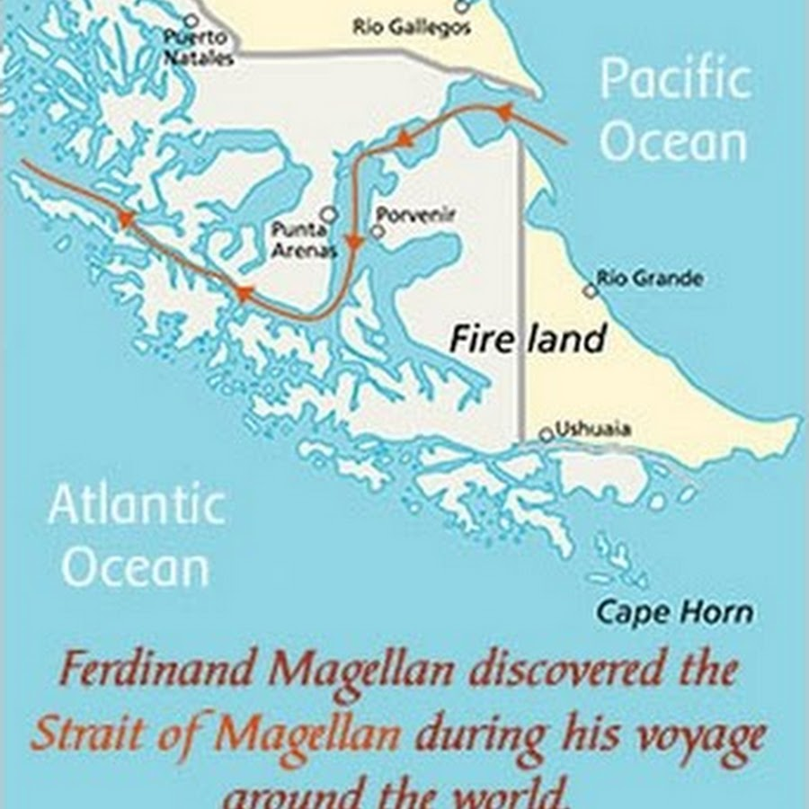 Strait of Magellan | channel, South America | Britannica.com