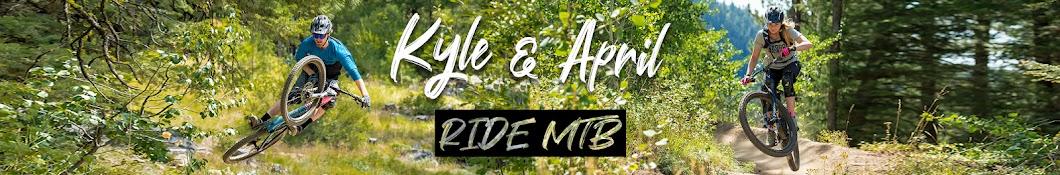 Kyle & April - Ride MTB Banner